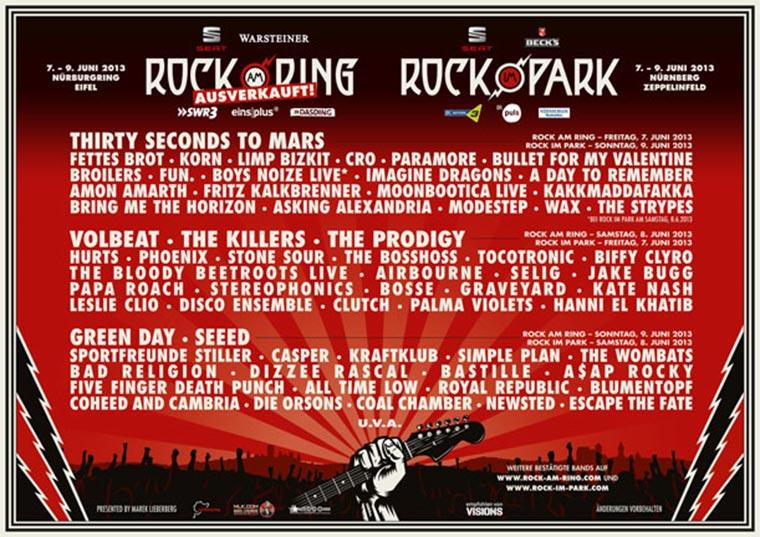 Einstimmung: Rock am Ring-Videoplaylist