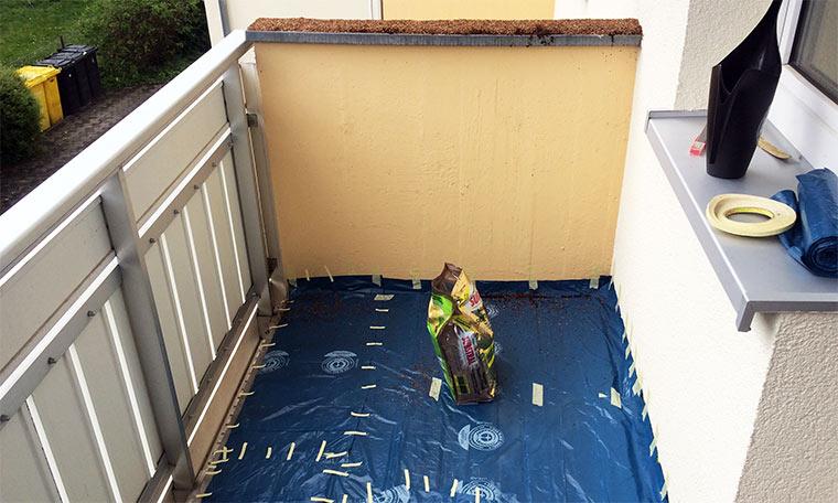 #RasenMagie: mein Balkon wird zur Wiese!