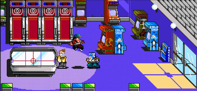 Pixels galore: River City Ransom Underground