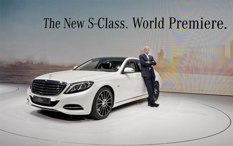 Mercedes stellt die neue S-Klasse vor