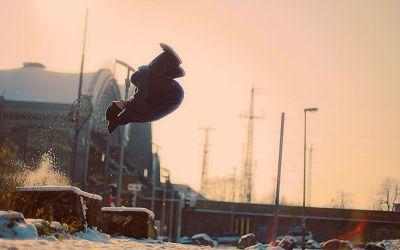 Schnee_Running