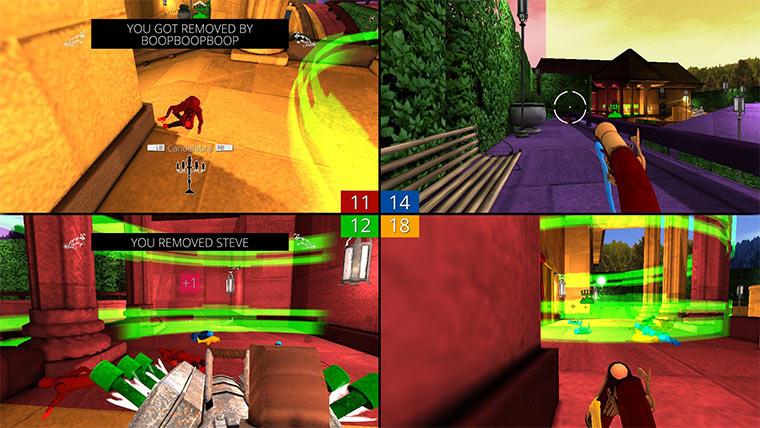 Gameplay: Screencheat