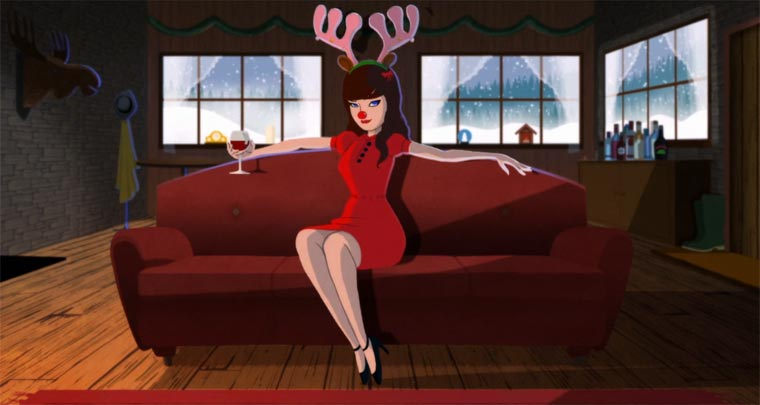 She & Him – Baby, it's cold outside