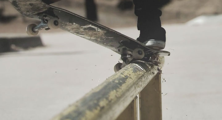Skateboard Superslowmotion by Charles Bergquist
