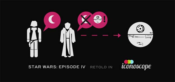Star Wars Episode IV iconised