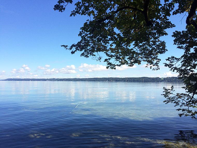 Wir waren am Starnberger See