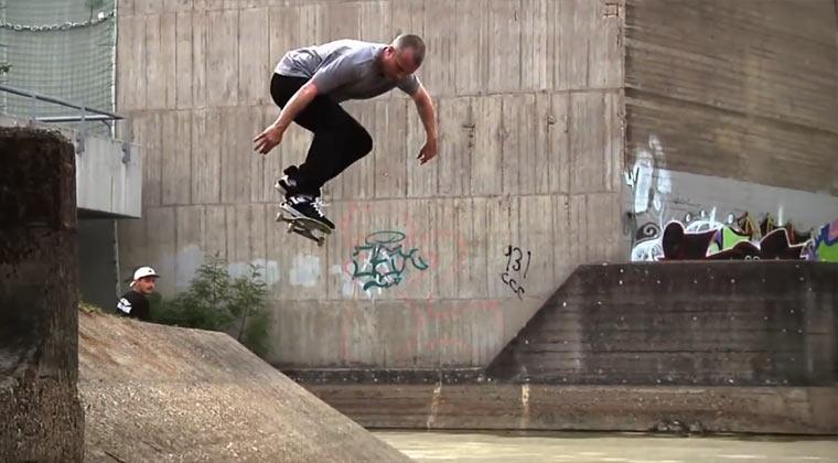 Skateboard-Europa-Tour