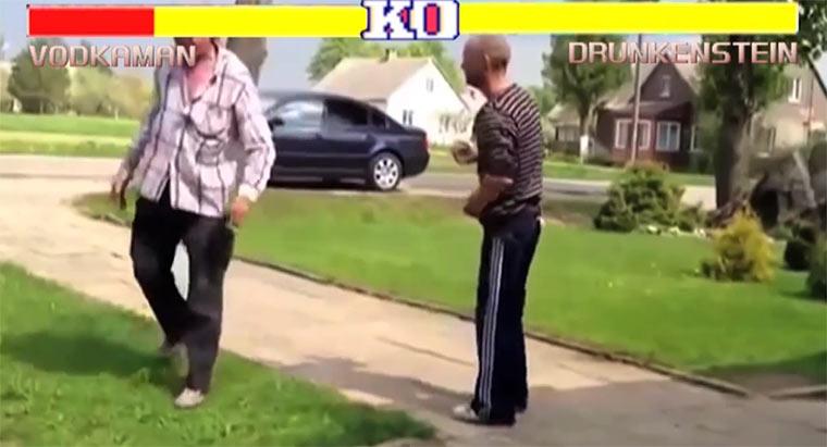 Street Fighter Crazy Drunk Russians Edition
