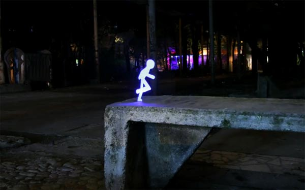 Light Painting Stop Motion Short
