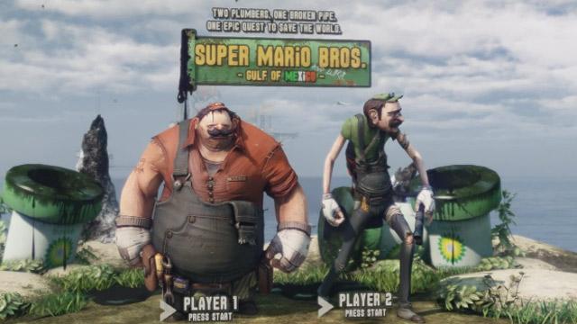 Super Mario Bros. – Gulf of Mexico