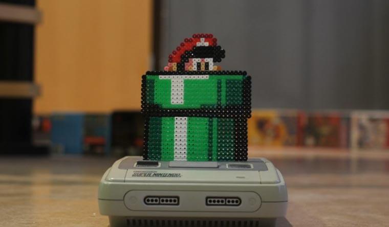 Stopmotion: Super Mario in unserer Welt