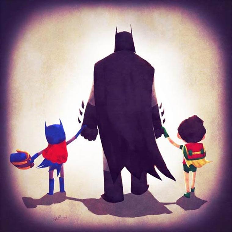 Sweet: Superheldenfamilien