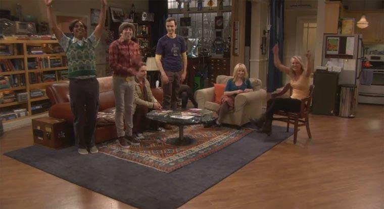 Big Bang Theory Flashmob-lypsings Call Me Maybe