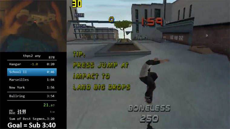 Tony Hawk's Pro Skater 2 in 4 Minuten