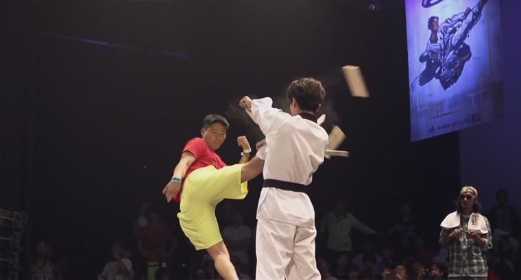 Taekwondo Trick Battles