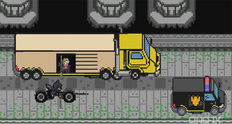 The Dark Knight 8-Bit Spieleversion