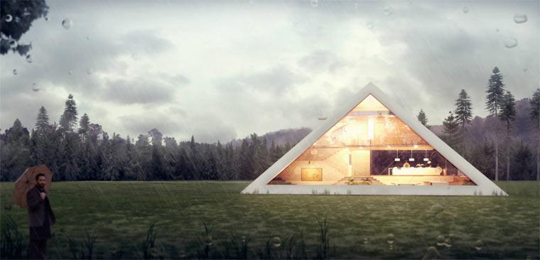 Das Pyramidenhaus