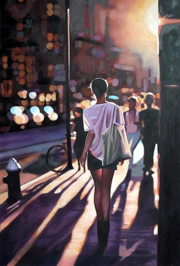 sinnliche Malerei: Thomas Saliot