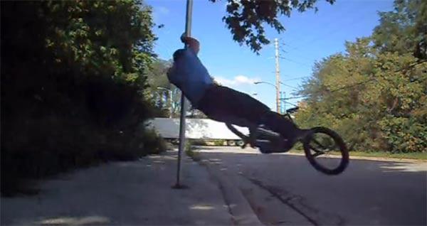 BMX-Trickserei: Tim Knoll