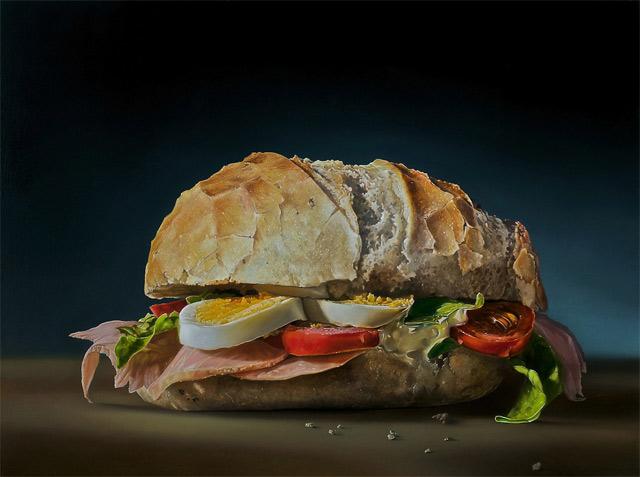 Hyperrealistische Gemälde von Essen