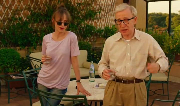 Trailer: To Rome With Love (new Woody Allen)