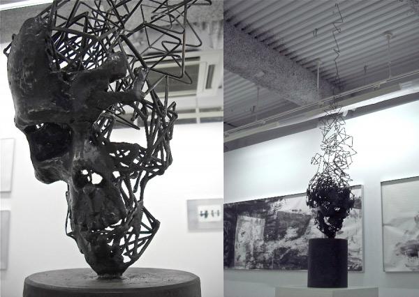 In Luft auflösende Stahl-Skulpturen