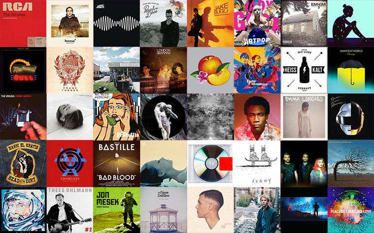 2013: die besten 30 Alben des Jahres