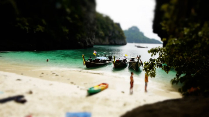 Tiltshift: Toy Thailand