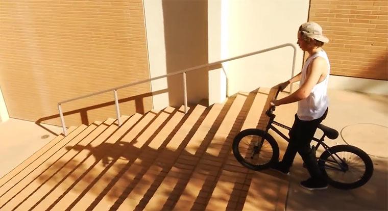 BMXing: Tyler Fernengel