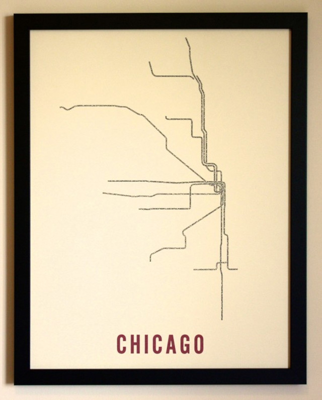 Typo-U-Bahn-Netz-Karte