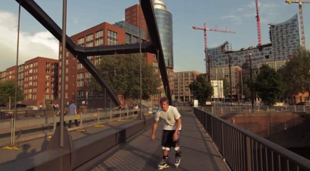 Rollerblading & mehr: U3 Baumwall