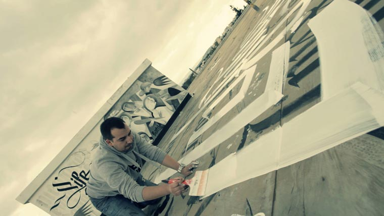 Urban Calligraphy – Skyfall