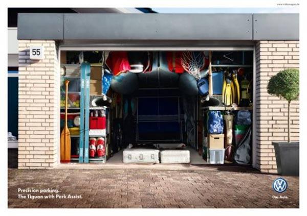 Die perfekt ausgenutzte Garage