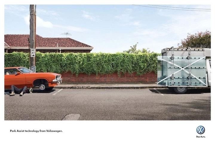 Printkampagne: Einparken leicht gemacht
