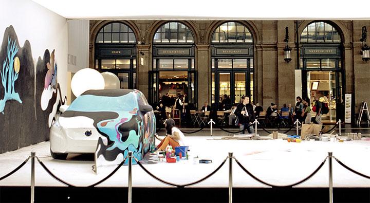 Künstler veredeln Autokarosserien – Volvo Art Session