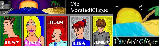 Trash pur: Mein Bitmap(!)-Comic aus 2003 – #1-9