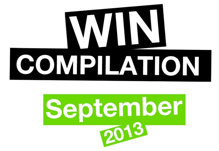 WIN-Compilation: September 2013