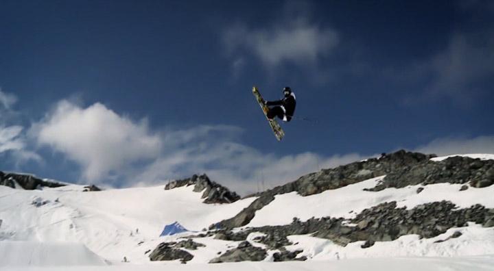Ski: Jossi Wells im Snow Park