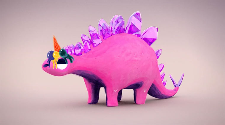 Wayne the Stegosaurus