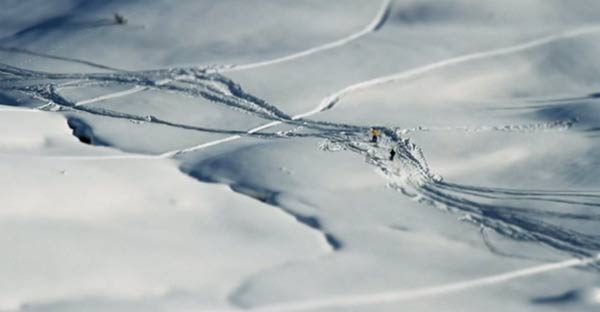 Das Miniatur-Winter-Wunderland