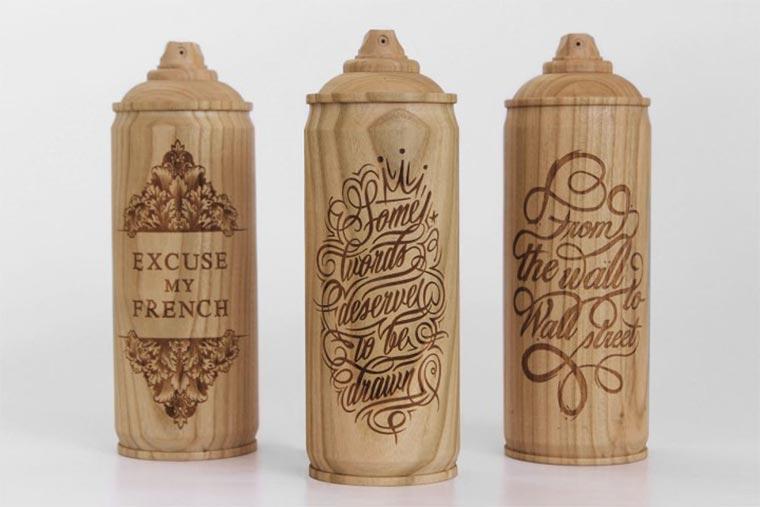 Spraydosen aus Holz Wooden-Spraycans_01