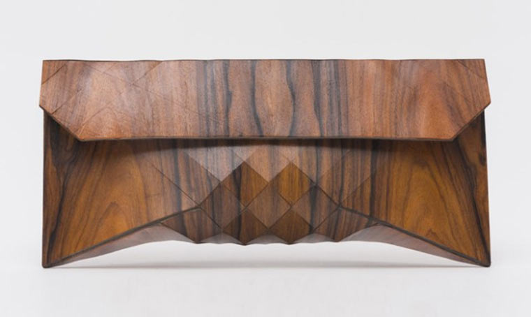 Wooden Clutch