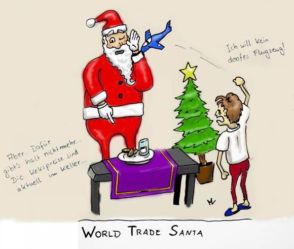 World Trade Santa