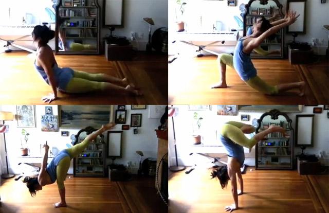 Yoga Routine Timelapse