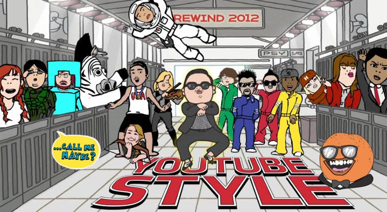 Rewind 2012 – die besten YouTube-Videos