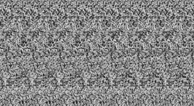 Optische Spielerei: Magic Eye Musikvideo