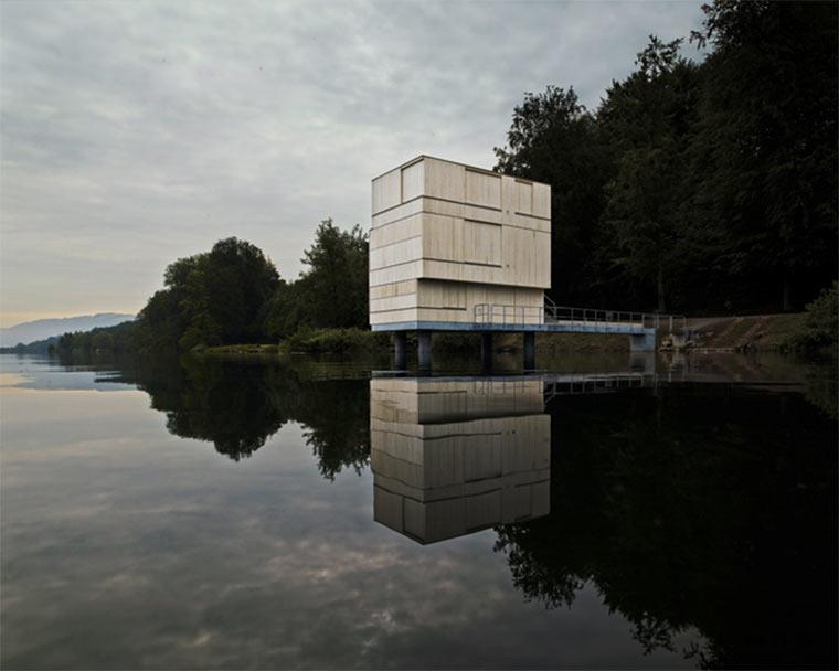 Architektur: Zielturm Rotsee
