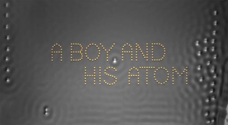 Stopmotion mit Atomen – Der kleinste Film der Welt