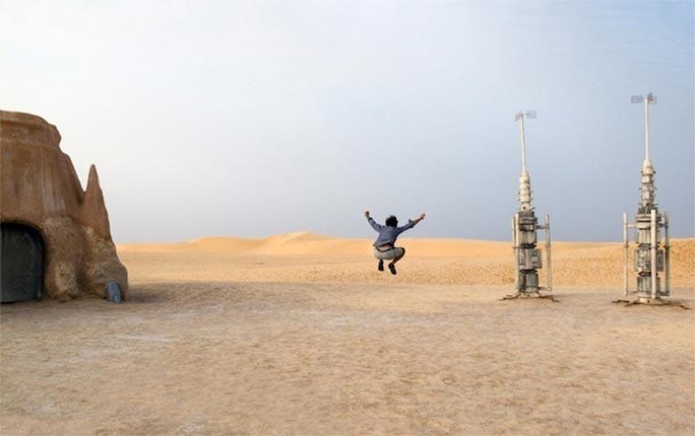 Verlassene Star Wars-Filmsets