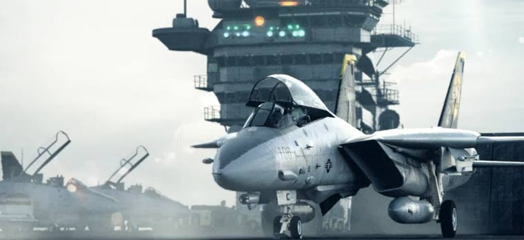 superrealistisch animiert: Aircraft Carrier Operation